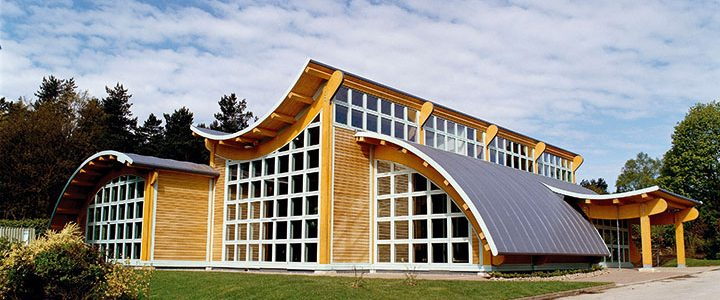 Darwin Forest Country Park Leisure Centre Designed By Pinelog The Vacsol Aqua Treated Scandinavian Whitewood Glulam Timbers Created Stunning Curved Beams
